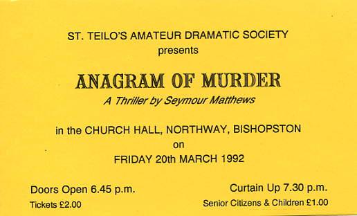 Original ticket.